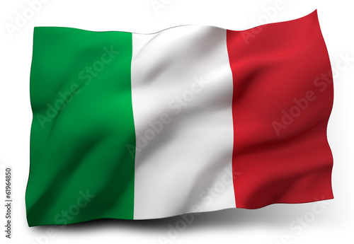 canvas print picture flag of Italy