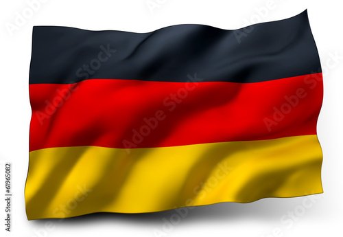 canvas print picture flag of Germany
