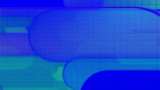 Retro Blue Geometric Looping animated background