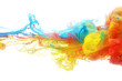 Colorful ink in water - 61967449