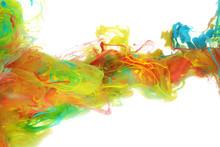 """Постер, картина, фотообои """"Colorful ink in water"""""""