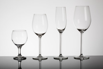 Glasses for alcohol