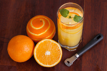 Orange long drink