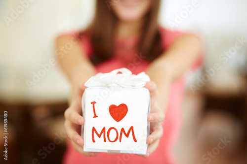With love to mom