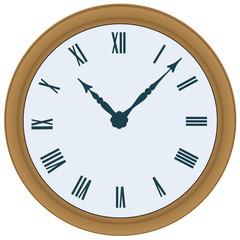 Clock. Vector illustration