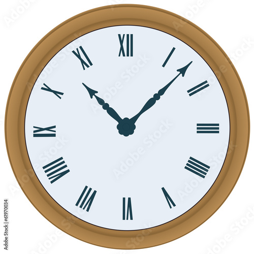 Clock. Vector illustration