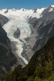 view of Franz Josef Glacier in Westland National Park