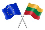 Flags: Europe and Lithuania