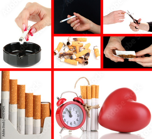 Concept of stop smoking