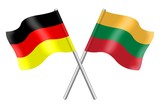 Flags: Germany and Lithuania