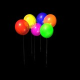multicolored balloons for adv or others purpose use