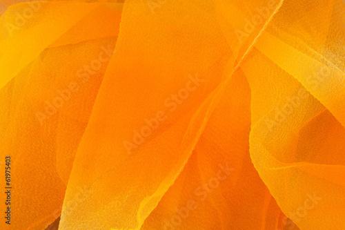 Fotobehang Stof Orange and yellow textile