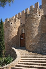 Getes of Villena Castle in Costa Blanca