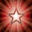 red star burst