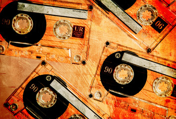 orange textured tapes
