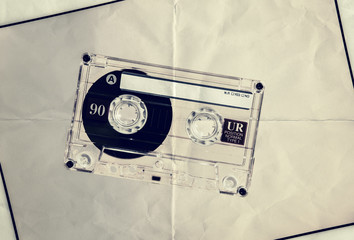 blank paper cassette