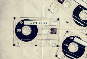 love cassettes paper