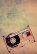 textured retro cassette