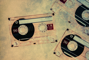 textured blank cassettes