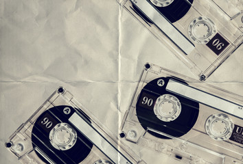 retro paper tapes