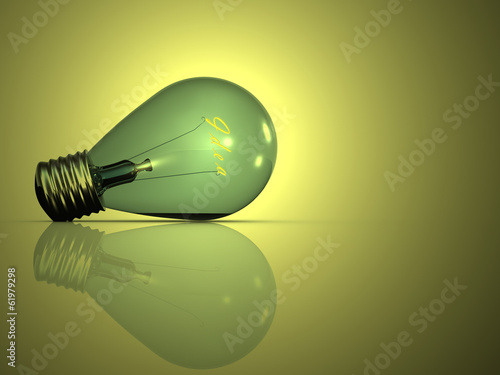 Light bulb icon for adv or others purpose use