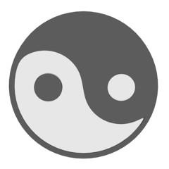 cartoon image of tao sign