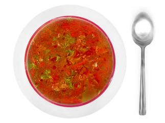 borscht, beet soup