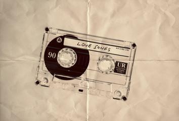 retro paper love cassette