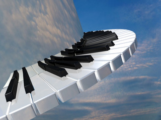 Amazing piano keys