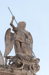 Estatua de San Miguel, Croacia