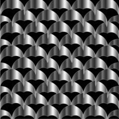 Metallic tile background