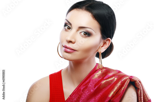 Indian beautiful fashion model face
