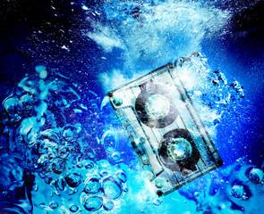 cassette underwater