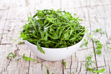 rucola in a bowl
