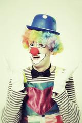 Staunender Clown