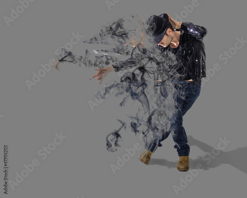 dancer smoke dispersion