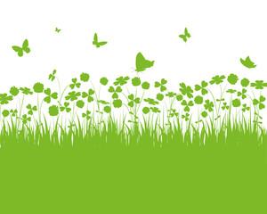 floral,grün,klee,kleeblatt,kleeblätter,blätter,frühling,grün,3d