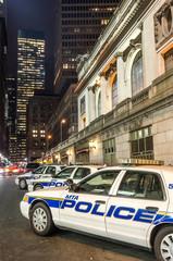 New York police cars