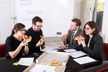 Business People Having Meal Together