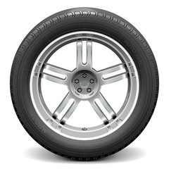 Vector Car Wheel