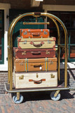 Bellman's luggage cart