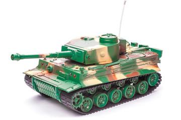 Plastic toy tank