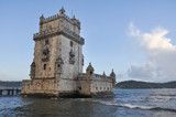 Tower of Belem in Lisbon, Portugal