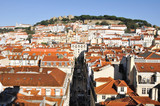 Lookout Point of Santa Justa, Lisbon (Portugal)