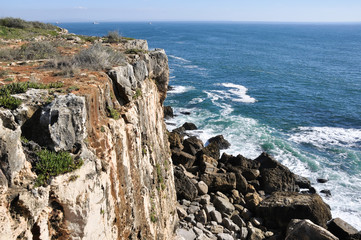 Cliffs of Cascais (Portugal)