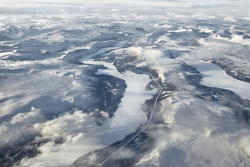 Arctic Circle - Frozen Lands and Rivers