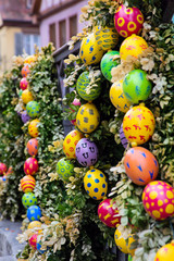 Easter in european city