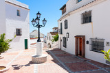 Mijas Pueblo,  white washed houses
