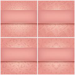 Decorative patterns set