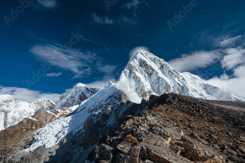 Beautiful landscape of Hymalayas mountains